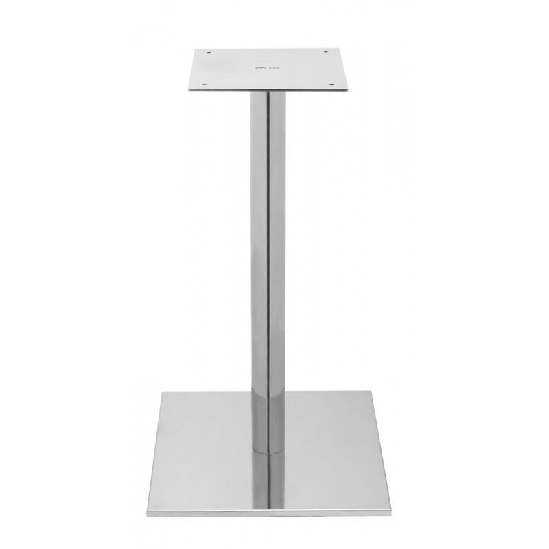 Estrutura Square Table 400 Inox