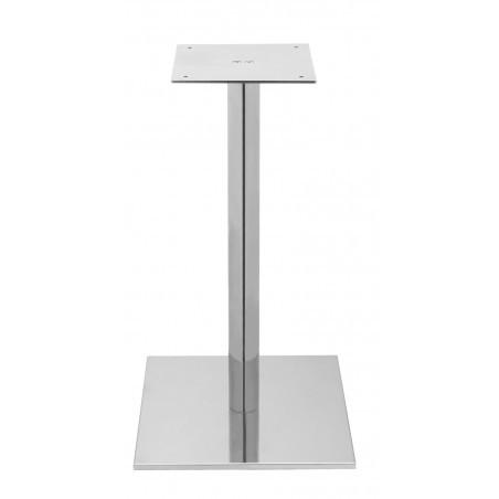 Estrutura Square Table 500 Inox