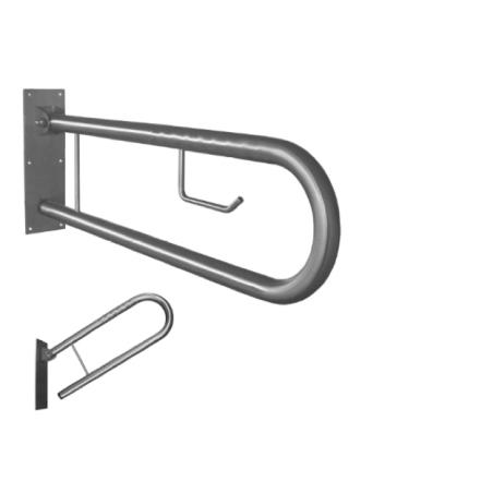 Barra de Apoio Sanita  60cm c/ porta rolos