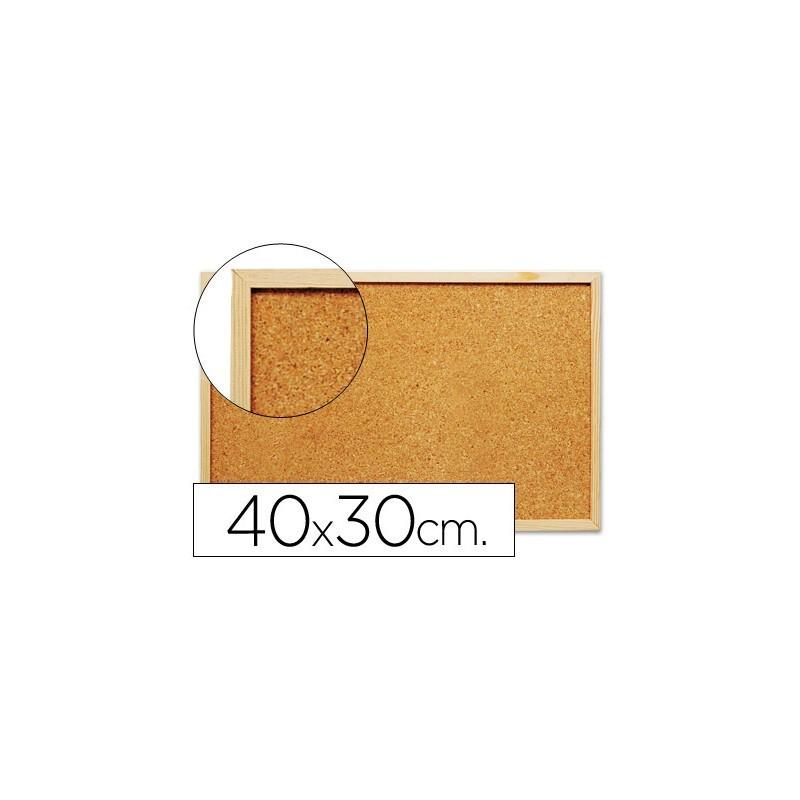 Quadro de cortiça c/ caixilho em madeira 300 x 400 mm