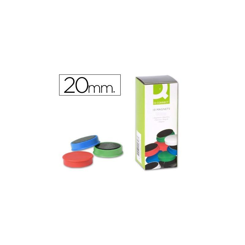 Íman de sinalização 2cm cores sortidas
